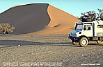 1999_NAMIBIA_'Sossus Vlei'_... hot ... Backes-Mercedes-UNIMOG ... with a ... fridge